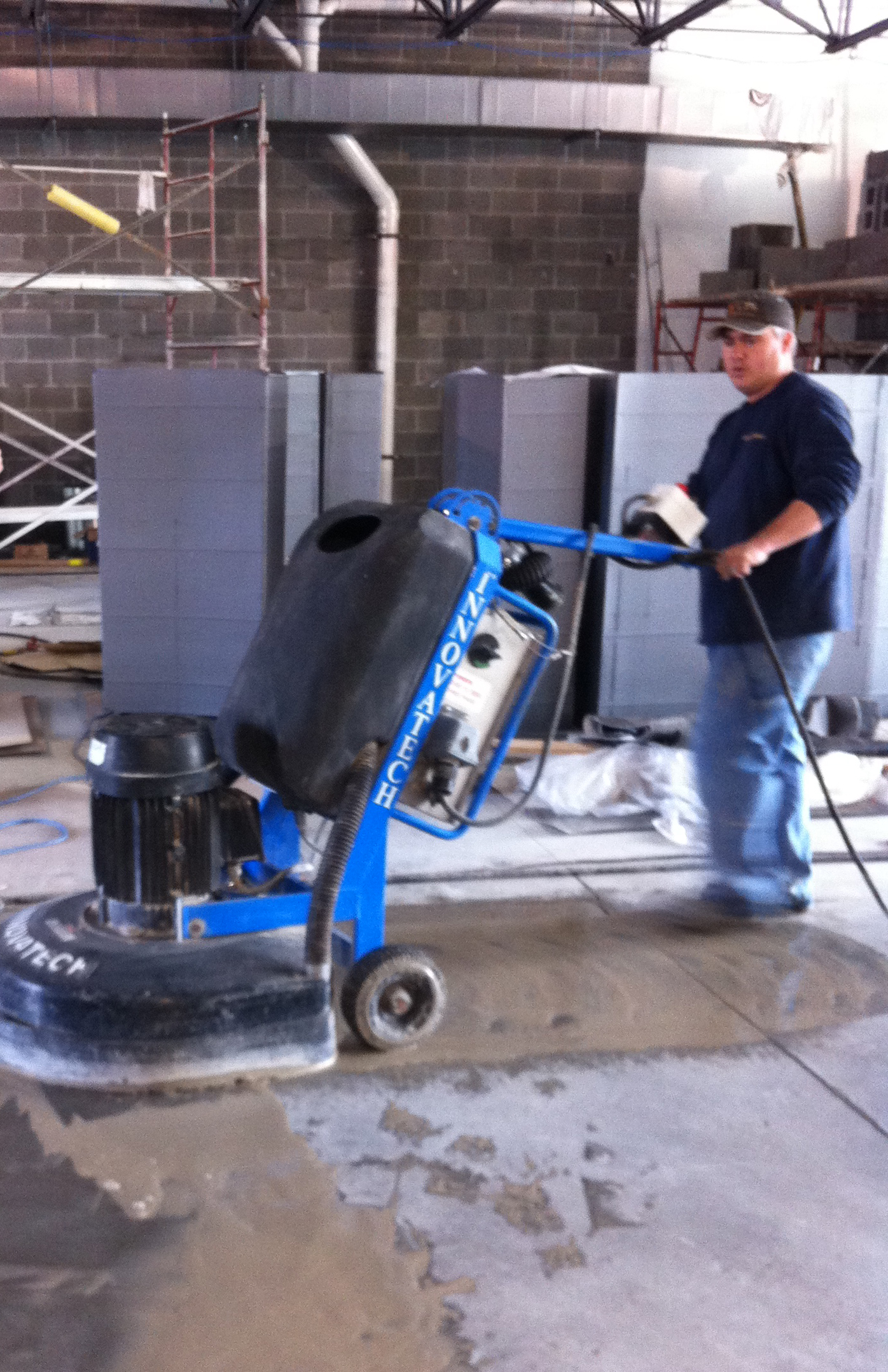 Surface prep concrete contracting solutions getting a concrete floor dailygadgetfo Gallery
